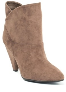 GC Shoes Flores Pull-On Asymmetrical Topline Bootie Women's Shoes