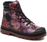 Palladium Kids's Wendy Flo K Zip-up Ankle Boots in Pink