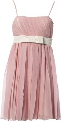 Christian Dior Pink Silk Dresses
