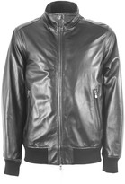 Fedeli Black Leather Jacket