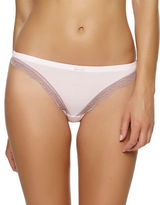Felina Lace-Trimmed Thong