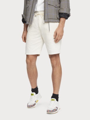 Scotch & Soda Cotton-Linen Shorts | Men