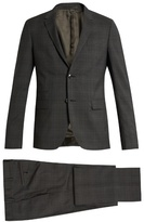 Valentino Checked notch-lapel wool suit