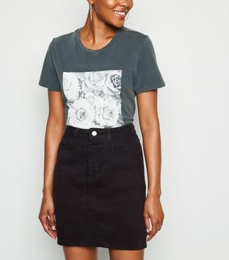 New Look Denim Mom Skirt