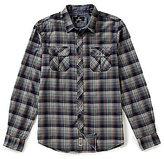 Buffalo David Bitton Sampir Plaid Long-Sleeve Woven Shirt