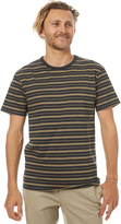 rhythm Essentials Stripe Mens T Shirt Black