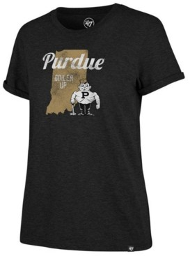 '47 Women's Purdue Boilermakers Regional Match Triblend T-Shirt