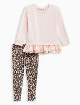 Splendid Little Girl Animal Print Legging Set