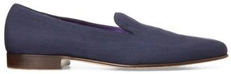 Ralph Lauren Alonzo Silk Slipper