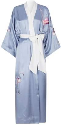 Olivia von Halle Queenie Tallulah Kimono Robe