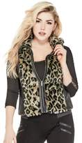 G by Guess Women's Venci Faux-Fur Vest
