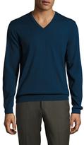 Ben Sherman Merino Wool V-Neck Sweater