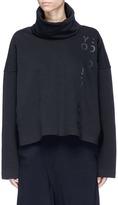 Y-3 Logo print turtleneck sweatshirt