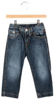 Dolce & Gabbana Boys' Medium Wash Straight-Leg Jeans