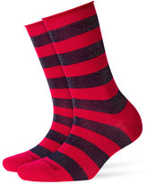Burlington Metallic Striped Socks