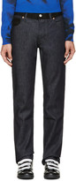 Moschino Blue and Black Combo Jeans
