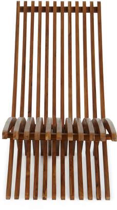 Teak Folding Lounge Chair