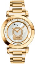 Salvatore Ferragamo Women's Minuetto Diamond Bracelet Watch