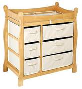 Badger Basket Baby Changing Table - Natural