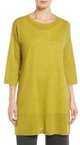 Eileen Fisher Women's Tencel & Merino Wool Blend Tunic
