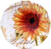Certified International Paris Sunflower Round Platter