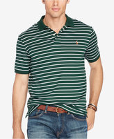 Polo Ralph Lauren Men's Big & Tall Striped Pima Soft-Touch Polo
