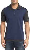 Robert Graham Men's Ghiberti Jacquard Pique Polo