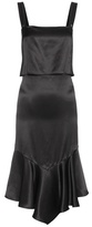Givenchy Ruffled silk slip dress