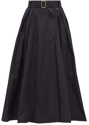 Max Mara Cinese Skirt - Womens - Navy