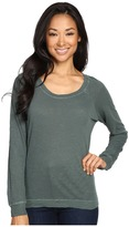 Alternative Washed Slub Slouchy Pullover