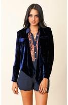 Funktional Velvet Drape Jacket