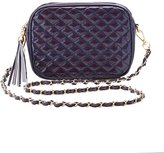 Charlotte Russe Holographic Quilted Crossbody Bag