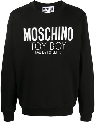 Moschino Toy Boy logo-print sweatshirt