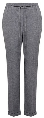 Dorothy Perkins Womens Grey Formal Jogger Trousers, Grey