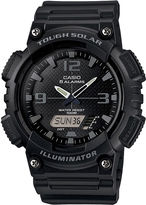 Casio Mens Black Dial Black Resin Strap Solar Sport Watch AQ-S810W-1A2
