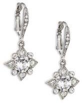Oscar de la Renta Delicate Star Crystal Drop Earrings