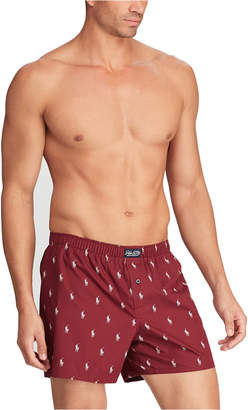 Polo Ralph Lauren Men Pony Player Woven Boxers