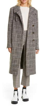 Stella McCartney Herringbone Tweed Coat