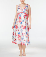 Thalia Sodi Plus Size Floral-Print Nightgown, Only at Macy's
