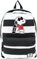 Vans Snoopy patch backpack