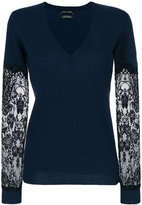 Each X Other lace v-neck top