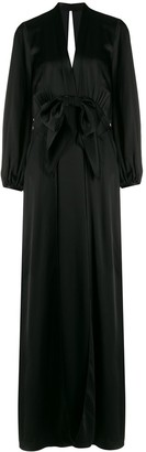 Temperley London Grace draped-bow gown