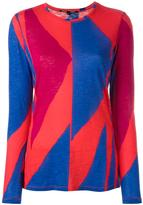Proenza Schouler geometric print T-shirt - women - Cotton - S