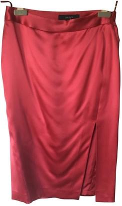 Gucci Red Silk Skirt for Women
