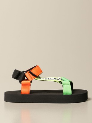 Stella McCartney Slipper Sandal With Canvas Straps