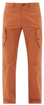 Sies Marjan Eshaan Cotton-blend Canvas Cargo Trousers - Orange