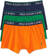 Polo Ralph Lauren Men's Cotton Stretch 3 Pack Boxer Briefs.