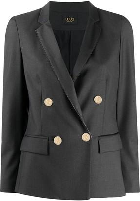 Liu Jo Double-Breasted Tailored Blazer