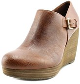 Dr. Scholl's Honor Women Open Toe Synthetic Brown Wedge Heel.