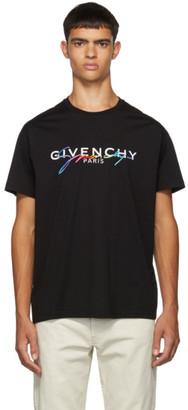 Givenchy Black Signature Logo T-Shirt